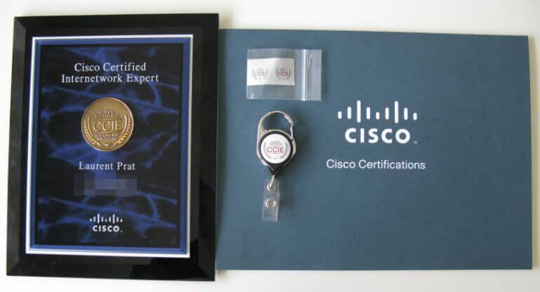 CCIE证书,水晶牌开箱分享贴,后面的老铁加油!-59学习网
