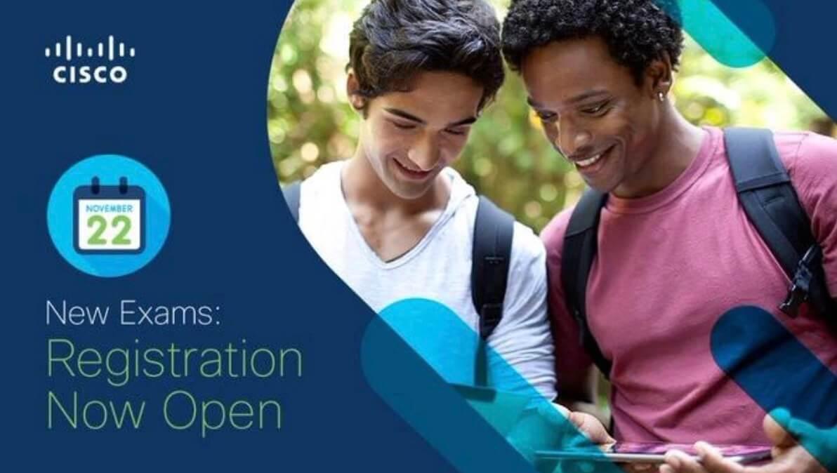 最新发布!现可预约新的思科考试(New Cisco Exam Booking Now Available)-59学习网
